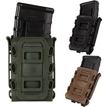 Gain Soft Shell Rifle Pistol Mag Carrier 5.56mm 7.62mm Fastmag Pouch Molle Clip Tactical Hunting Military Airsoft Magazine Holster lowestprice