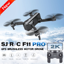 SJRC F11 PRO GPS 5G Wifi FPV With 2K Camera 25mins Flight Time Brushless Selfie RC Drone Quadcopter Foldable Quadcopter RTF ZLRC sjrc f11 gps drone with wifi fpv 1080p camera 25mins flight time brushless selfie foldable arm rc drone quadcopter follow me