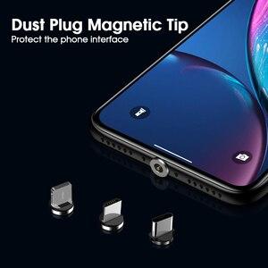 Магнитный кабель Micro USB Type C Vothoon 2,4 А для iphone 11 Pro Xs Samsung S10 S7 Xiaomi, Магнитный зарядный кабель, мобильный телефон