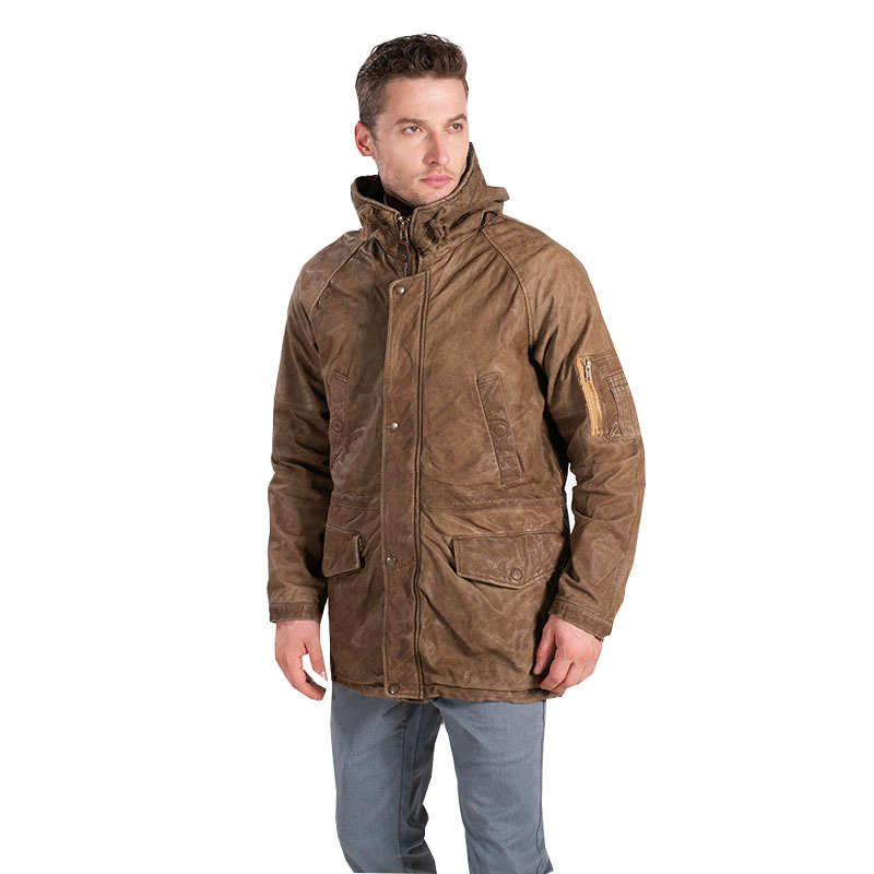 Free Shipping.winter Warm Classic Sheepskin Jackets,fashion Men's Genuine Leather Jacket.vintage Coat.casual Windbreaker Limite
