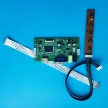 Для LTN133HL05-401 1920 × 1080 плата контроллера LCD DIY HDMI VGA EDP монитор СВЕТОДИОДНЫЙ экран дисплей 13,3