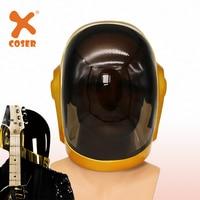 XCOSER Cool Daft Punk Guy Manuel Full Head Helmet Halloween Cosplay Props Cosplay Party Helmet Cosplay Helmets Costume Accessory