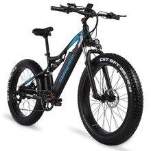 Shengmilo Electric Bike 1000W Mens Mountain Bike Snow Bike Electric Bicycle Ebike 48V Electric Bicycle 4.0 Fat Tire e bike