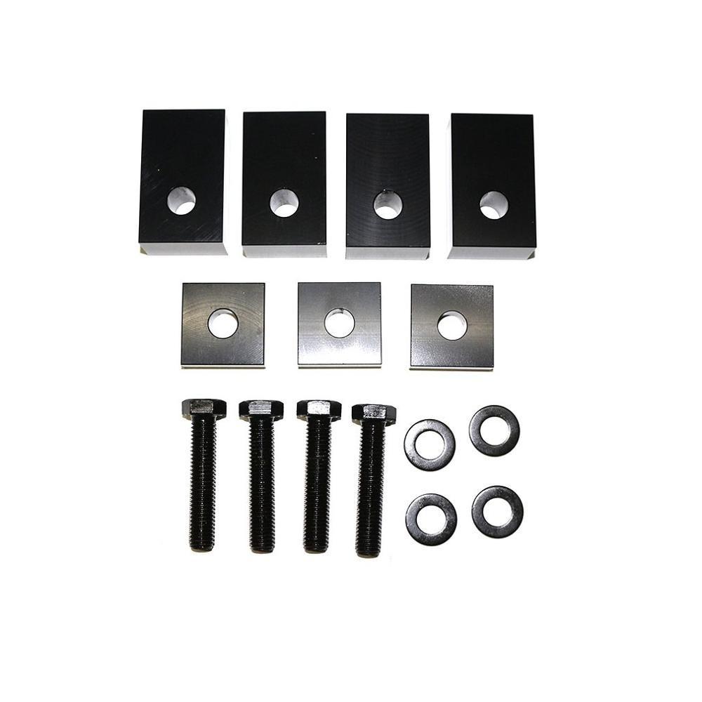 Rear Seat Recline Kit Rear Seat Adjuster Spacer Blocks Lift Recline Kit For Jeep JK JKU JL JLU 07-18