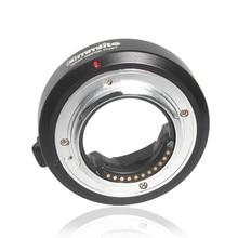 Commlite 전자 자동 초점 렌즈 마운트 어댑터 올림푸스 OM 4/3 렌즈 마이크로 4/3 M4/3 카메라 GH4 GH5 GF6 GX7 EM5 EM1 OM D