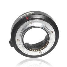 Commlite elektronicznych automatyczne ustawianie ostrości Adapter do mocowania obiektywu dla Olympus OM 4/3 obiektyw do Micro 4/3 M4/3 GH4 GH5 GF6 GX7 EM5 EM1 OM D