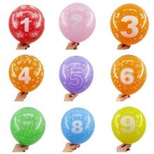 Happy Birthday Latex Balloons Party Decorations Wedding Decoration Ballon Baby Shower