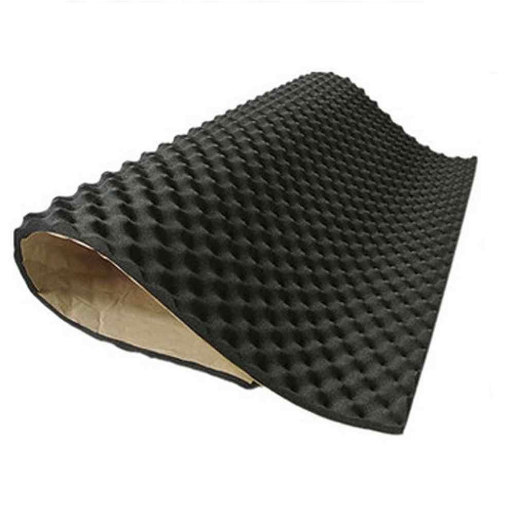 1pc 100*50*2cm mata pochłaniająca dźwięk do samochodu dźwięk tłumiący hałas izolacja akustyczna pianka Subwoofer Mat autos akcesoria