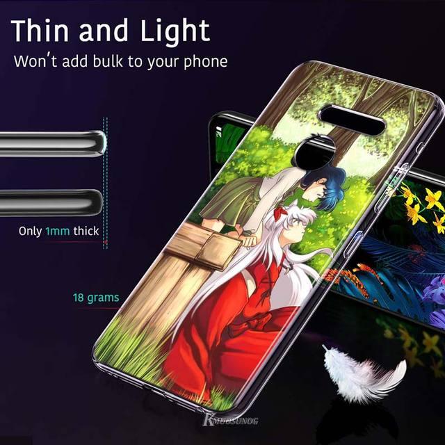Inuyasha Japan Anime kagome Style for LG W20 W10 V50S V50 V40 V30 K50S K40S K30 K20 Q60 Q8 Q7 Q6 G8 G7 G6 ThinQ Phone Case