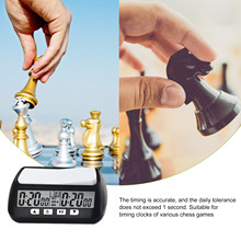 Chess Clock Board Games Digital Chess Timer With Alarm Function Board Games For Children Family Board