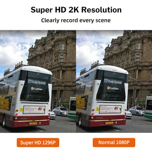 Image 2 - Deelife Dash kamera araba dvrı kamera Full HD 1080P sürücü Video kaydedici Registrator oto Dashboard 1296P çift çizgi kam siyah dvr kutusu