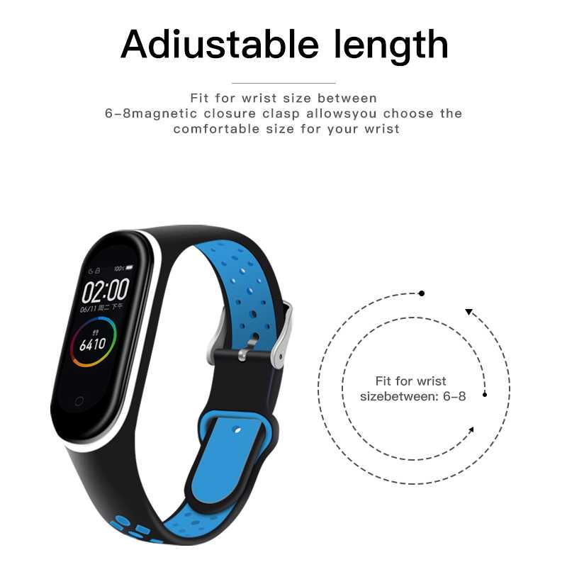 Ionct Zachte Siliconen Band Voor Xiao Mi Mi Band 4 Band Horloge Armband Sport Correa Mi Band 3 Band mi Band Smart Accessoires