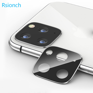 Image 2 - Rsionch Back Camera Lens Screen Protector for NEW iPhone 11 Pro Max 11 Pro 11 Tempered Glass Metal Rear Lens Protection