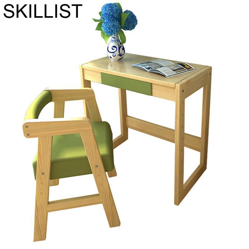 Estudiar Tisch Pupitre Tavolino Bambini Set Tableau Infantil Children Estudar Wood Enfant Mesa Escritorio Desk Study Kids Table