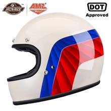 Мотоциклетный шлем amz на все лицо для мотокросса езды мотоцикле