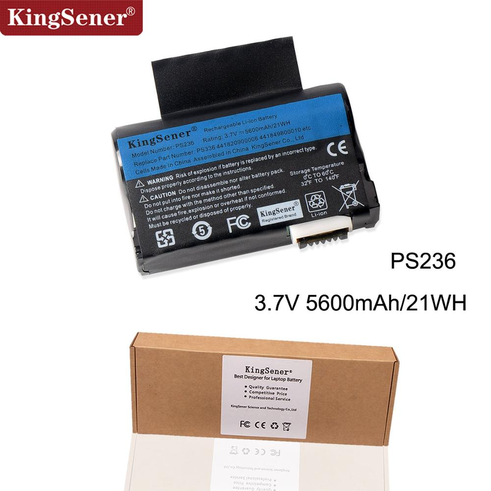 KingSener New Li-ion Battery For Getac PS236,PS336,441820900006, 441849800010, PS236 Battery 3.7V 5600mAh Free 2 Years Warranty