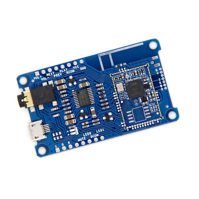 CSR8675 بلوتوث V5.0 فك مجلس PCM5102A منخفضة الطاقة APTX/APTXLL/APTXHD ضياع I2S