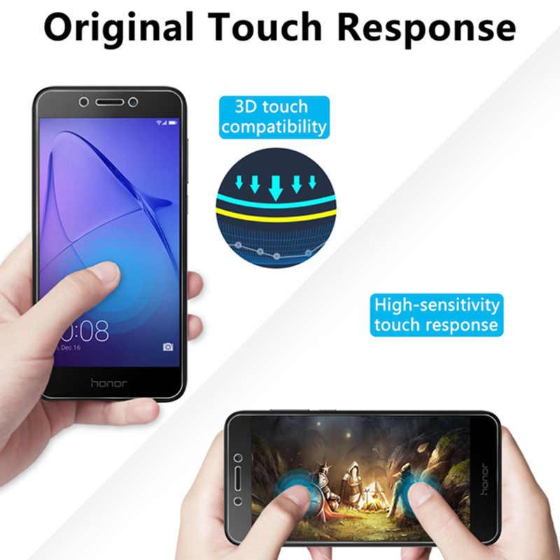 2 個 9H Toughed フロントフィルム強化保護 Huawei 社の名誉 7C 8A 7A 6A プロスマートフォン画面 protecor 名誉 5A 4A