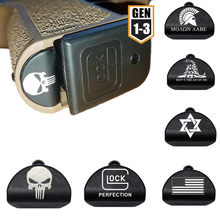 Grip Frame Insert Plug Magwell for Gen 1/2/3 Glock 17 18 19 20 21 22 23 24 25 34 Gun 9mm Magazine Speed Loader Accessories