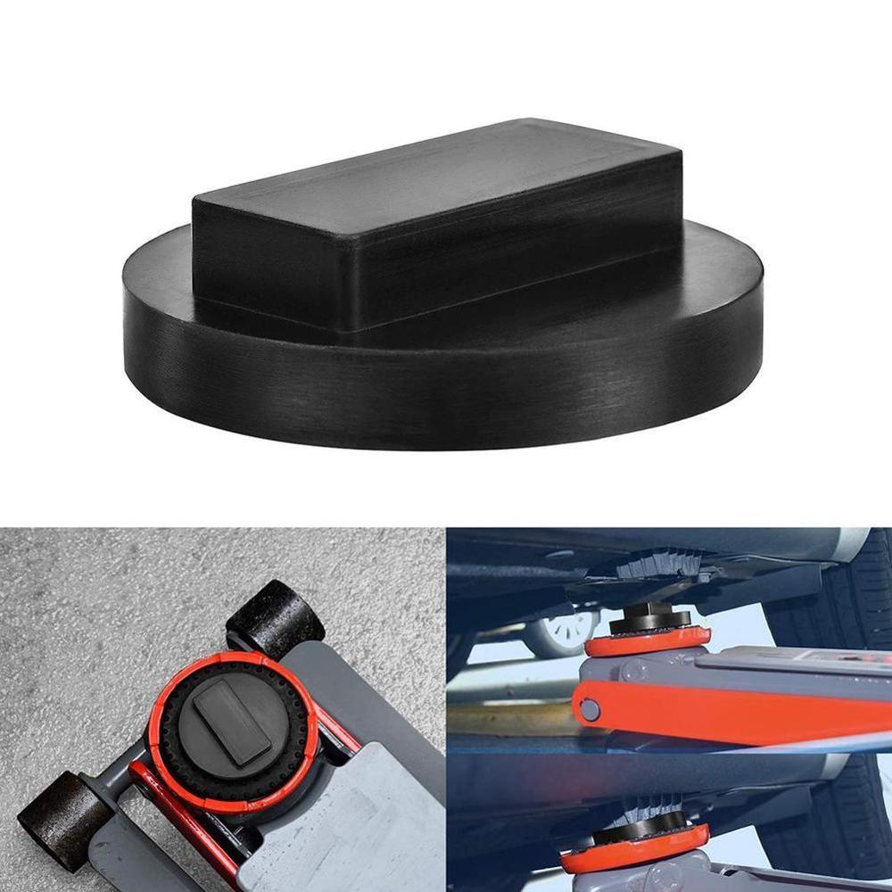 Black Car Rubber Jack Pads Tool Jacking Pad Adapter Safe Raise Lifting Tool Jack Lift Point Pad For BMW Mini R50/52/53/55 NEW