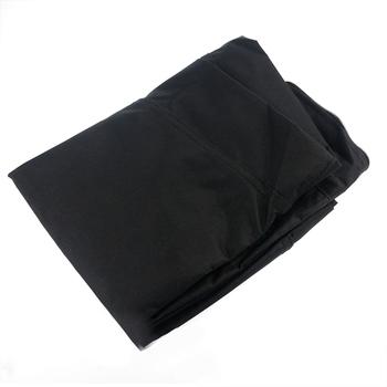 Pyłoszczelna torba do przechowywania mebli wodoodporny ochronny pokrowiec Oxford sakiewka materiałowa Patio deszcz śnieg pyłoszczelna czarna tanie i dobre opinie CN (pochodzenie) Furniture Pouch Nowoczesne