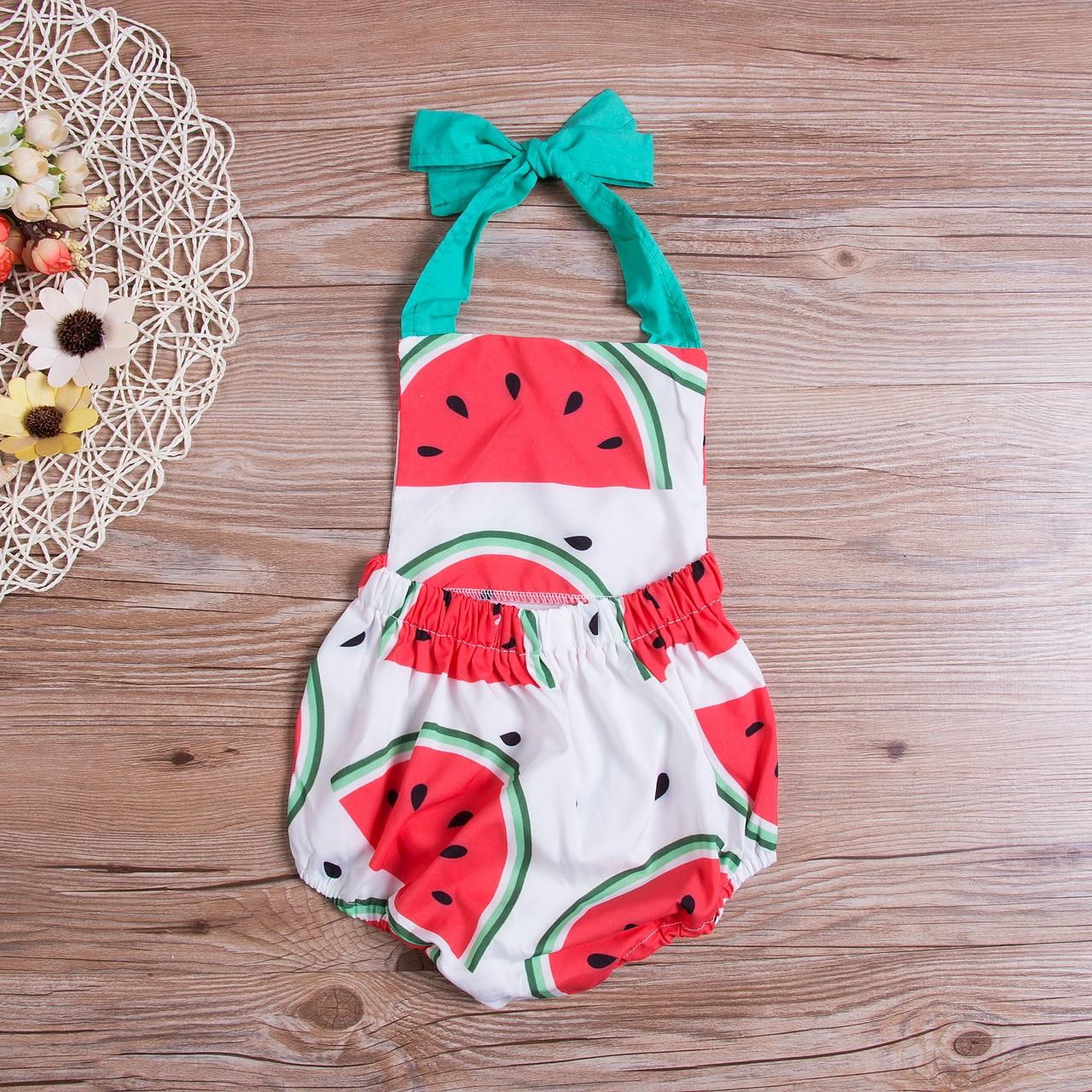 Cute Summer Baby Girls One Piece Swimsuit Beachwear 2020 Backless Fresh 0-24M Little Baby Swimwear Lovely Bathing Suit