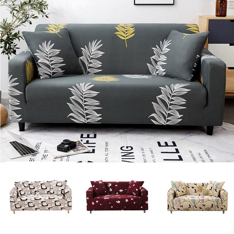 Protecteur housse de canapé Spandex housse de canapé élastique canapé couvre pour salon housse canape housse de canapé Plaid canapé Couches 1PC