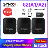 SYNCO G2 G2A1 G2A2 Wireless Lavalier Microphone System for Smartphone Laptop DSLR Tablet Camcorder Recorder pk comica 1