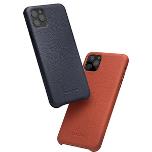 Image 5 - QIALINO Luxury Genuine Leather Phone Cover for Apple iPhone11 Pro Max 6.5 inch Stylish Ultra Light Back Case for iPhone 11/11Pro