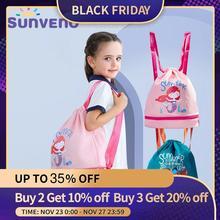 Sunveno torba do pływania na mokro/suche dziecko torba dzieci pływać worek PE plecak ze sznurkiem