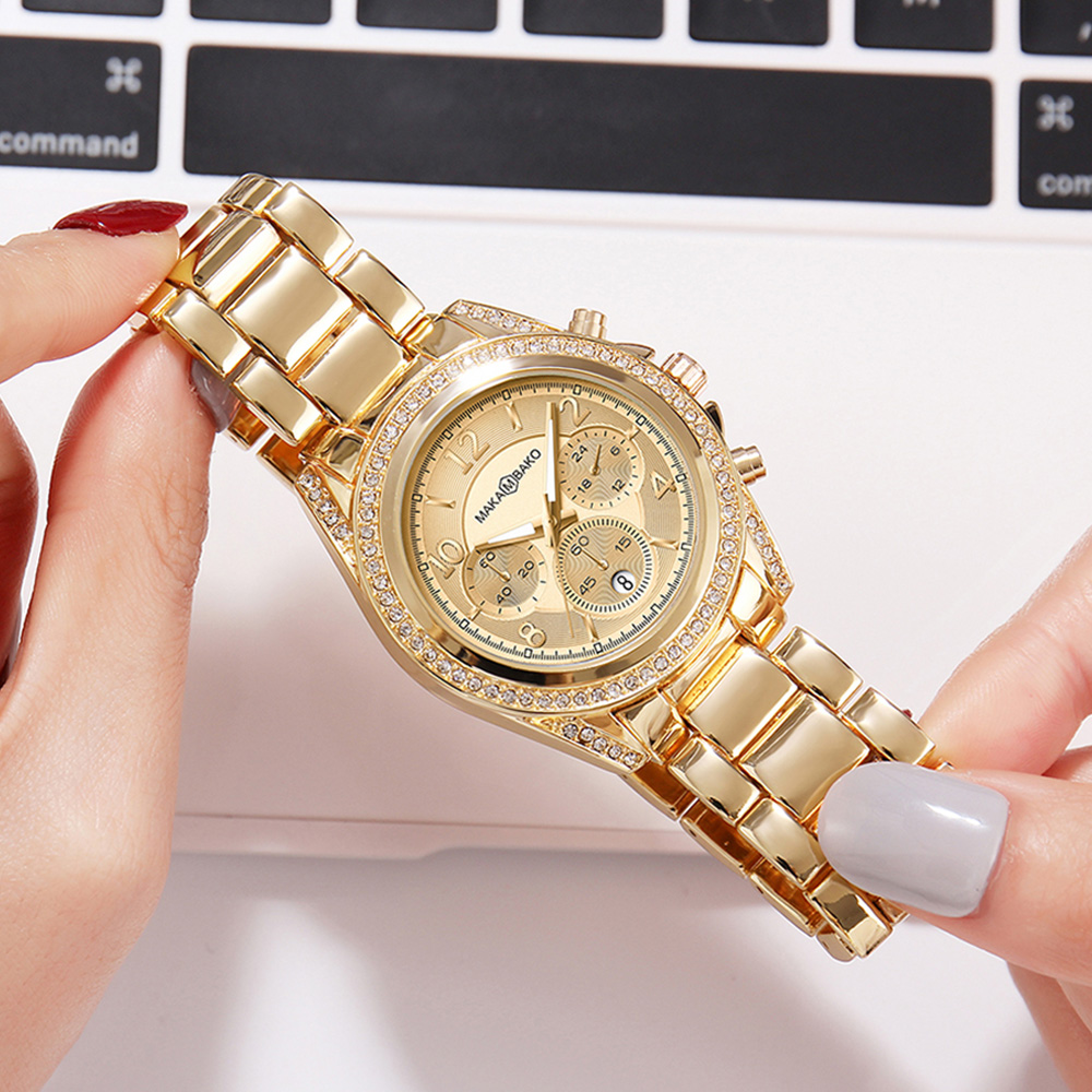 2020 Luxury Gold Watch Women Stainless Steel Quartz Clock Women Minimalist Style Watch Top Brand Waterproof Ladies Wristwatches