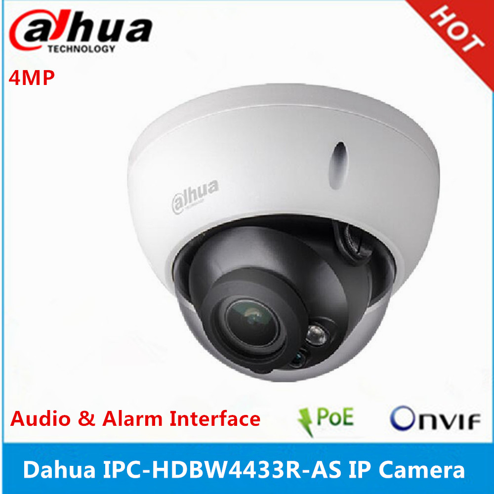 Dahua 4MP IPC-HDBW4433R-AS POE Starlight IP Dome Camera IK10 IP67 IR30M