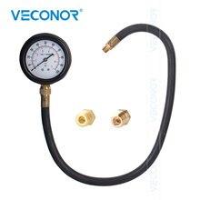 """TU 12เกียร์อัตโนมัติความดัน Tester Meter เครื่องมือวัด24 """"ท่อ Diagnostic ชุด0 100PSI สำหรับน้ำมัน"""