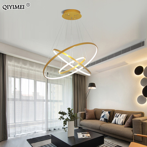 Image 3 - Lampe moderne suspendue avec cadre pendentif led lumières, éclairage en abat jour, luminaire dintérieur, idéal pour une cuisine, une salle à manger
