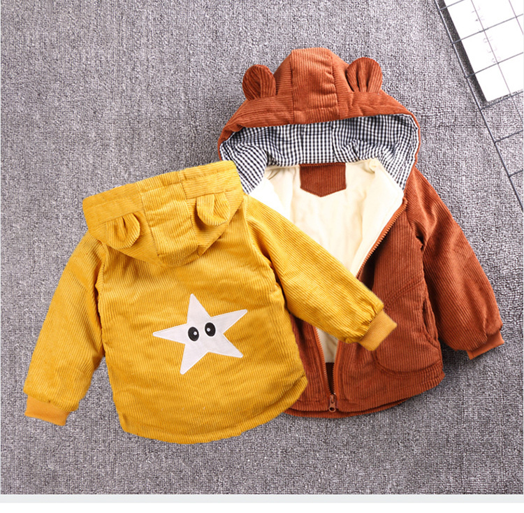 Baby Girls Coat Fashion Kids Boys Jacket 2020 Winter Baby Coat Children Warm Cotton Outerwear Newborn Jacket For Infant Clothing