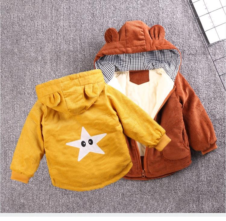Baby Girls Coat Fashion Kids Boys Jacket 2020 Winter Baby Coat Children Warm Cotton Outerwear Newborn Jacket For Infant Clothing