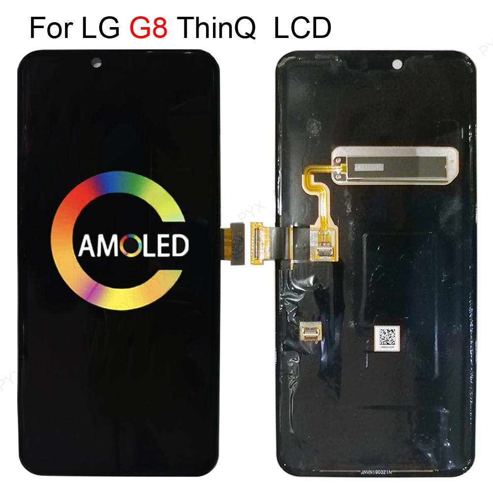 """With Frame 6.1""""ORIGINAL lcd For LG G8 ThinQ LCD Touch Screen Digitizer Assembly For LG G8 Display Replacement Availablely"""
