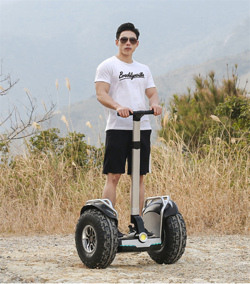 19 inch big tire hoverboard 2 wheels scooter High Power Electric self balancing scooter adjustable hover board skateboard (12)