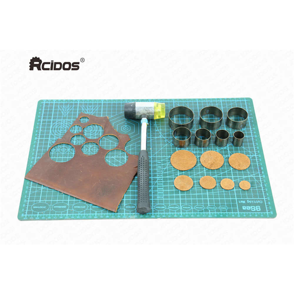 Punching Mold 5pcs Bell Cutting Round Steel 20 25 30 35 40mm Tools Accessories