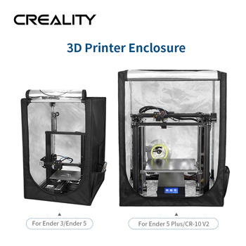 New Coming CREALITY 3D Printer Enclosure For Ender-3/Ender-3 PRO/Ender-5 /Ender-5 Plus With Safe Quick and Easy installation фото