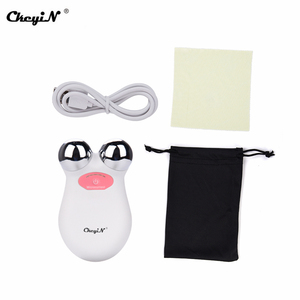 Image 5 - Mini EMS Microcurrent Face Lift Machine Skin Tightening Rejuvenation Spa USB Rechargeable Facial Wrinkle Remover Beauty Massager