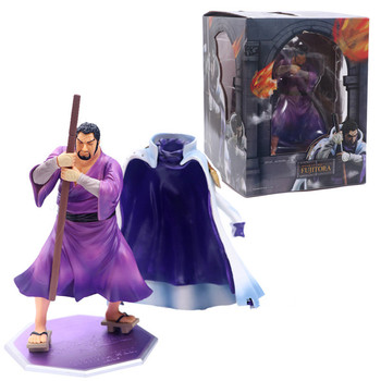 24CM Fujitora Isshiou One Piece Anime Collectible Action Figures PVC Collection toys for christmas gift 1