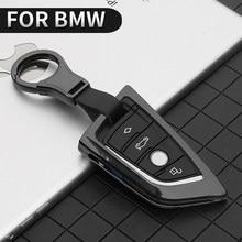 Металлический чехол для автомобильного ключа для BMW 1 3 5 7 Series X1 X3 X4 X5 X6 M3 M5 F20 F30 F10 E30 E34 E70 F15 F16 F45 F46 G20 G30 G32 G11 G12