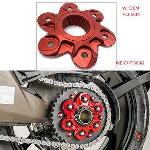 For Ducati 1200 XDiavel Diavel Multistrada Supersport 1299 1260 1262 1199 1198 1098 939 Motorcycle Rear Sprocket Cover