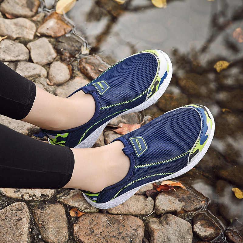 2020 새로운 여성 샌들 남성 캐주얼 신발 경량 통기성 슬립 신발 여성 운동화 샌들 Mujer 대형 아파트
