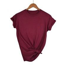 Alta qualidade 13 cores XS-XL simples t camisa feminina de algodão elástico básico camisetas femininas casual tops de manga curta camiseta