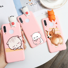 3D Doll Toys Case For Huawei P40 Lite Mate 30 20 10 P30 P20 Pro P10