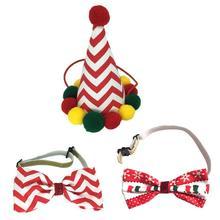 Шляпа для собаки на Хэллоуин, галстуки-бабочки для собак, кошек, праздничный костюм, украшение, аксессуары для волос, легко носить, интересный дизайн, новинка