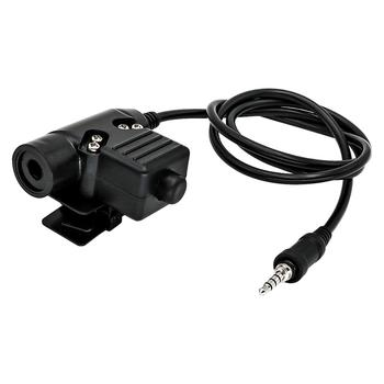 Yaesu Vertex U94 ptt tactical headset adapter plug for Yaesu Vertex VX-6R VX-7R VX6R VX7R FT-270 VX-127 VX-170 walkie talkie цена 2017