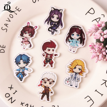 TQ 1pcs Douro mainland cartoon Badge Saber Brooch Pin Fate/Grand Order FGO Archer Collection Badge for Backpack Clothes Z92 image